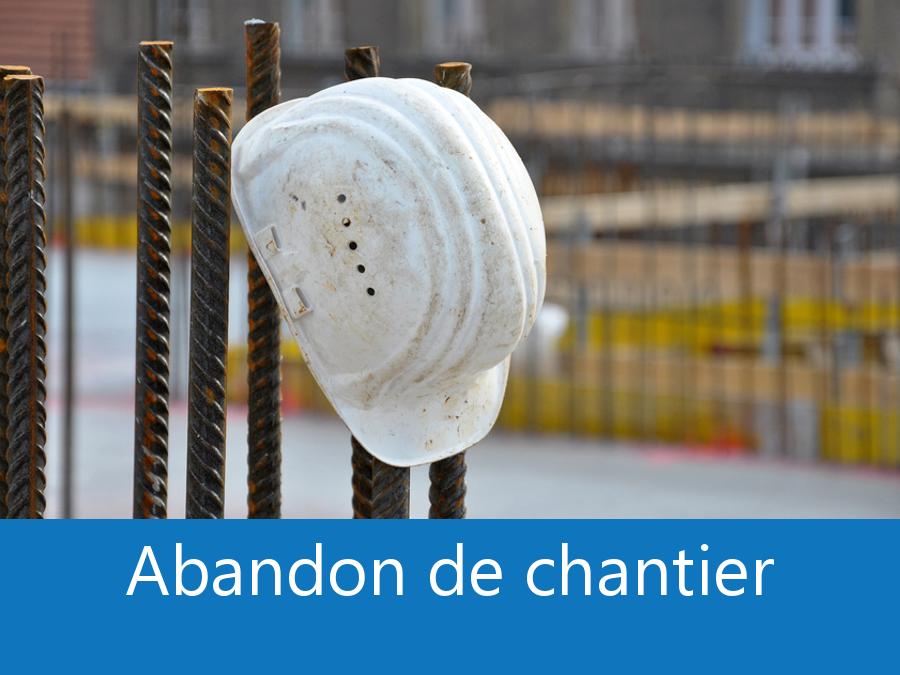 abandon de chantier 17, desertion chantier Charente-Maritime, arrêt de chantier La Rochelle, problème chantier 17,